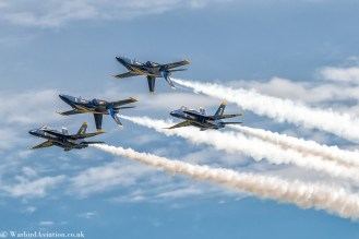USN Blue Angels Double Farvel Pass