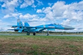 Ukrainian Air Force Su-27 Flanker