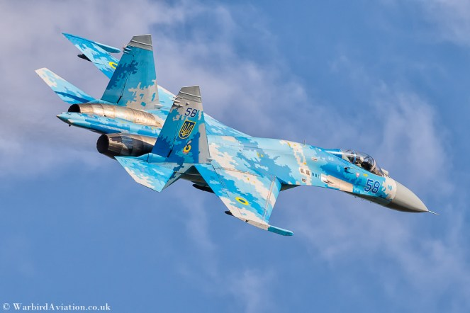 Ukrainian Air Force Su-27 Flanker