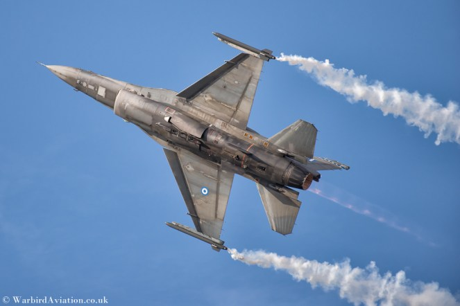 Hellenic Air Force F-16 Demo Team Zeus