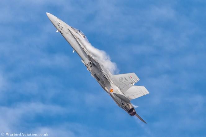 McDonnell Douglas EF-18A+ Hornet at BAFD 2018