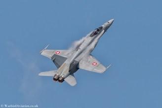 Swiss Air Force F-18 J-5013