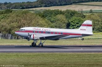 landing at Prestwick for Daks over Prestwick