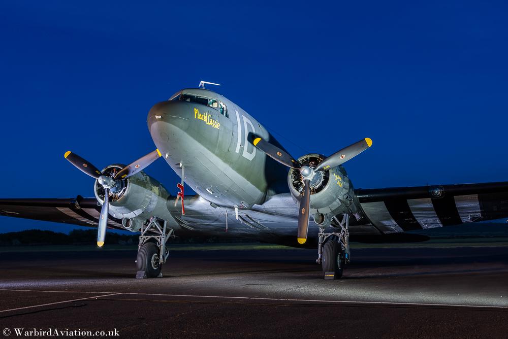 C-47 N74589 Placid Lassie