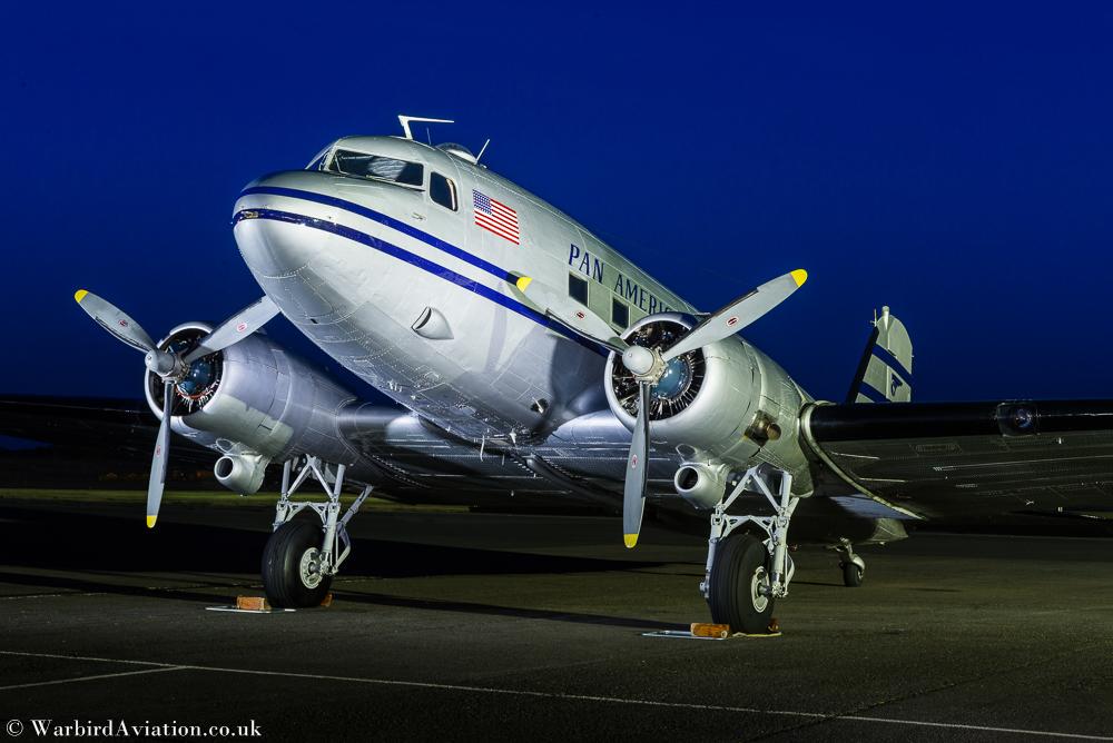 C-47 N877MG Pan American Airways Systems