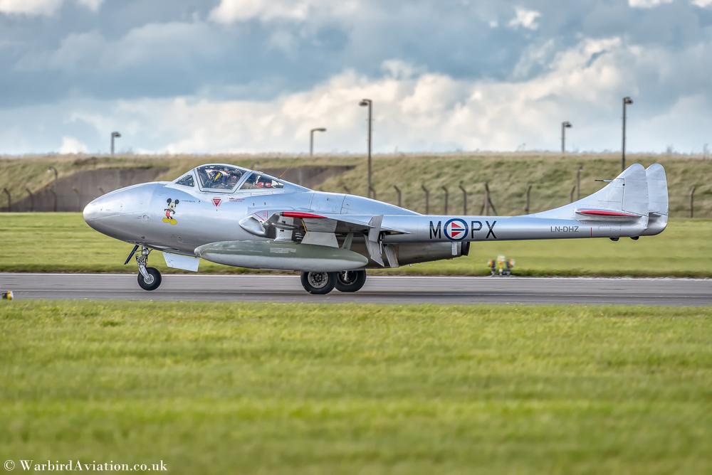 de Havilland Vampire T.55 (LN-DHZ)