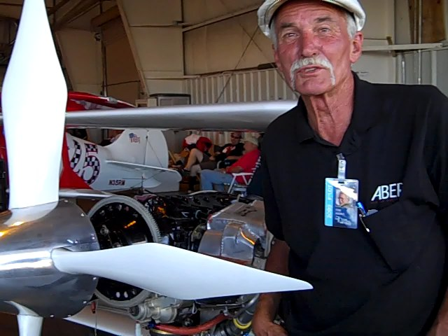"Video Interview with Race #62 ""Phantom"" Biplane Pilot Tom Aberle"