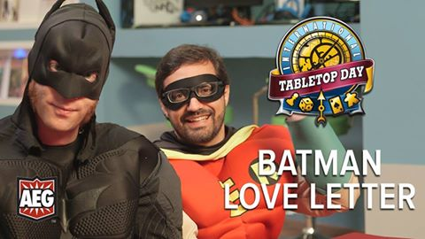 TableTop: TableTop Day – Batman Love Letter