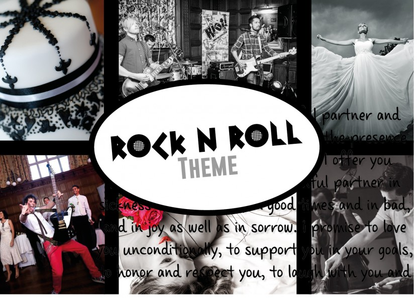 Entertainment Ideas For A Rock And Roll Themed Wedding
