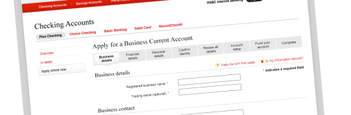 HSBC Business Account Opening