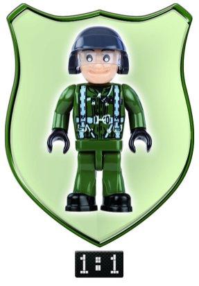 Cobi Tornado 200 Piece Set Pilot