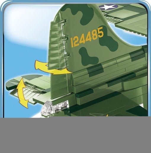 COBI B-17 Memphis Belle Bomber Tail