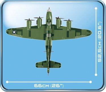 COBI B-17 Memphis Belle Bomber size