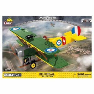 COBI AVRO 504K Biplane Set