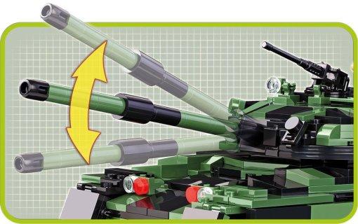 Cobi British Chieftain Tank Set Cannon