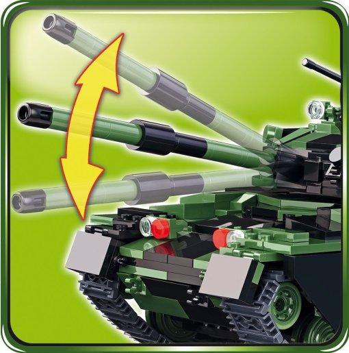 Cobi British Chieftain Tank Set Gun
