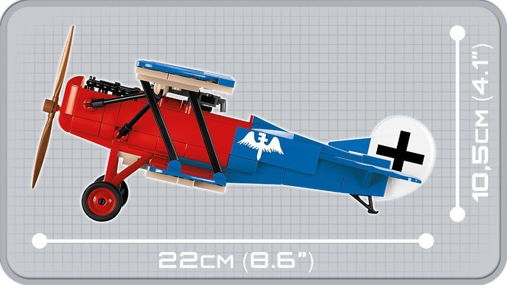 We have partnered with the good folks at Hauldrop.com to run a one day (1 DAY) giveaway this Friday. The giveaway will be featuring one of our WWI COBI FOKKER D VII Biplane Sets!