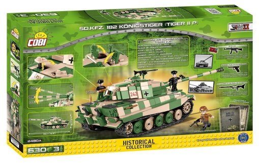 Cobi King Tiger set