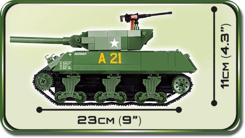 Cobi M-10 Wolverine Tank Set Length
