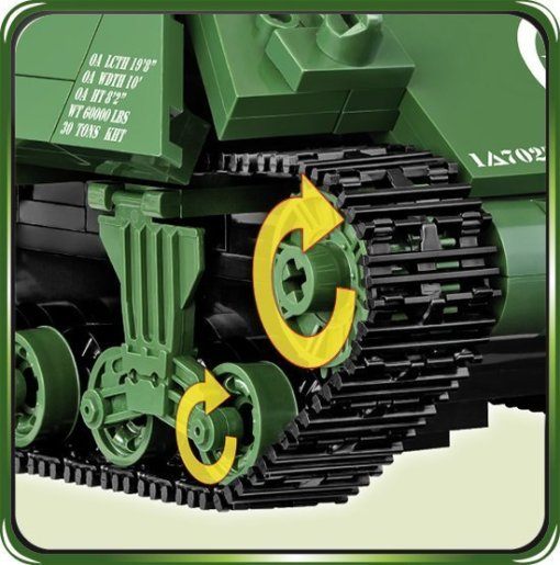 Cobi M-10 Wolverine Tank tracks