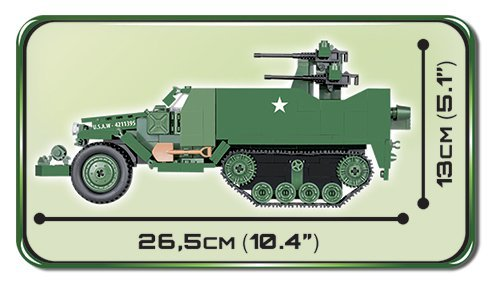 Cobi M16 Half-Track Length
