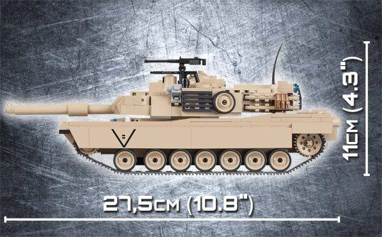 Cobi M1A2 Abrams Tank Set Length