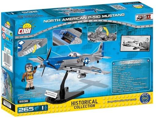 Cobi P-51 Mustang Set Box detail