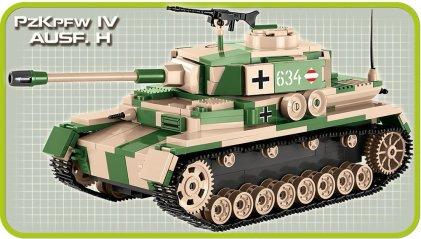 Cobi Panzer IV Tank Set (3 in 1) AUSF H
