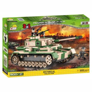 Cobi Panzer IV Tank Set (3 in 1)