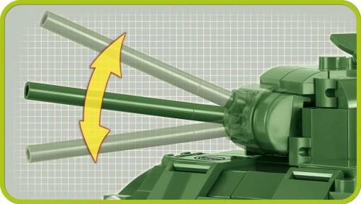 Cobi Sherman M4A1 Tank Set Cannon