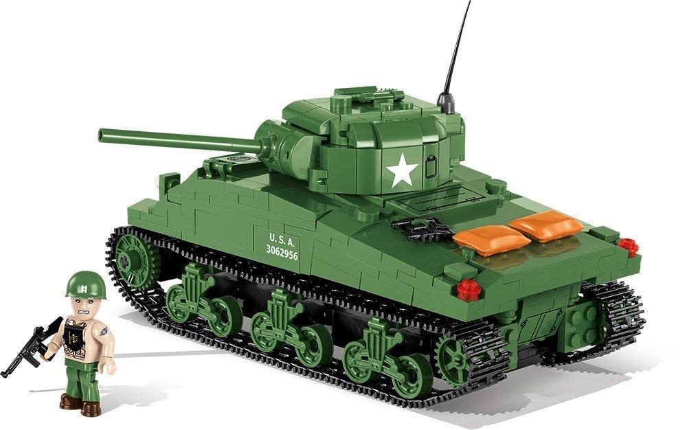 Cobi Sherman M4A1 Tank Set Free shipping