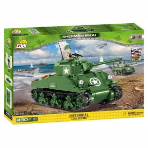 Cobi Sherman M4A1 Tank Set