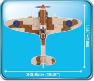 Cobi Supermarine Spitfire MK IX Set width