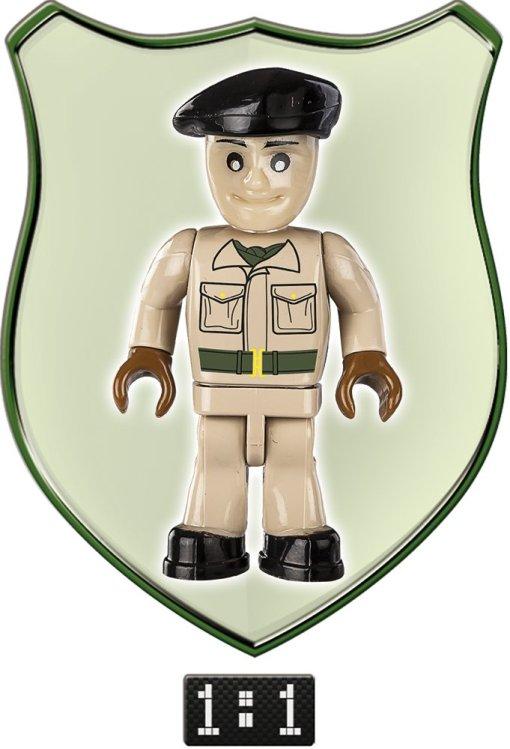 Cobi Valentine MK III Brick Set Commander