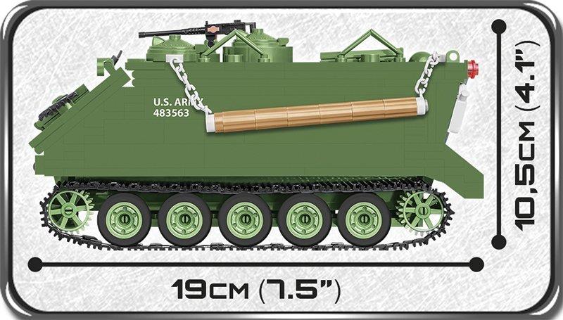 COBI M113 APC Tank Set Length