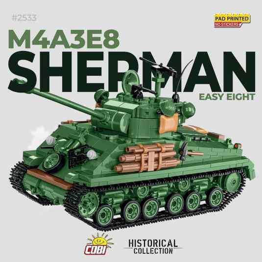 COBI Sherman Easy 8 Tank Set