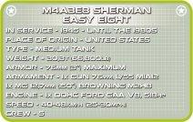 COBI Sherman Easy Eight Tank Set Tech Specs