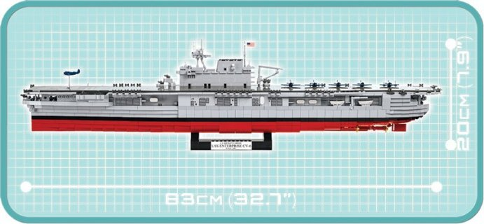 COBI USS Enterprise Set Specs