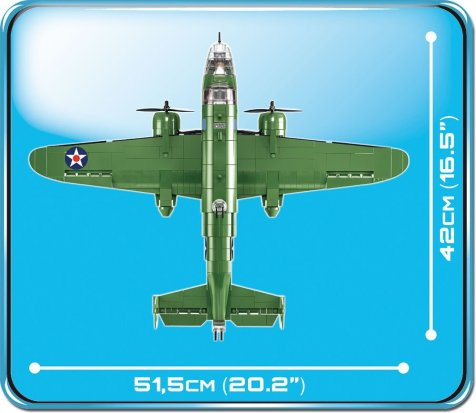 Cobi B-25b Wingspan