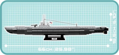 COBI USS WAHOO Size