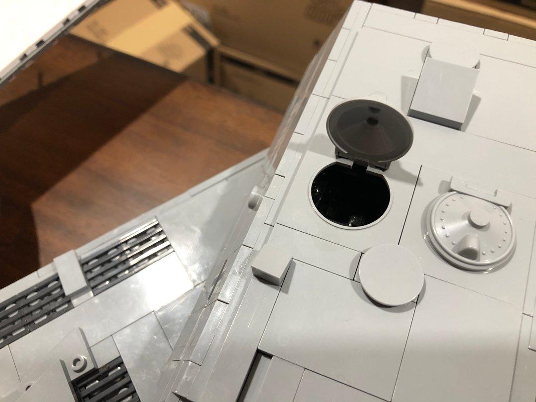 COBI layered MAUS Tank build