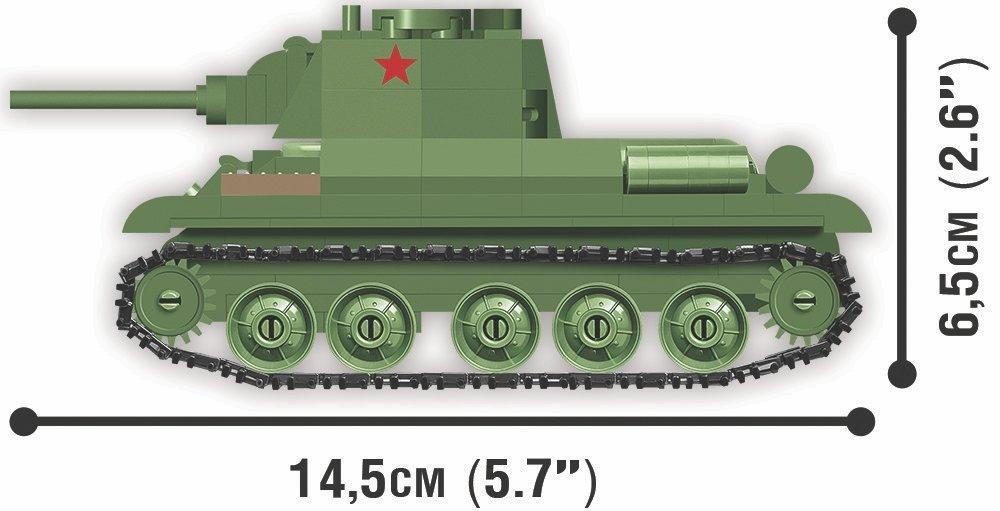 COBI 148 Scale T-34 Set Size