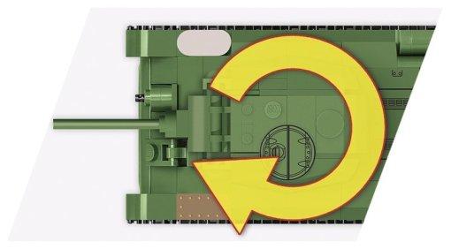 COBI 148 Scale T-34 turret Detail