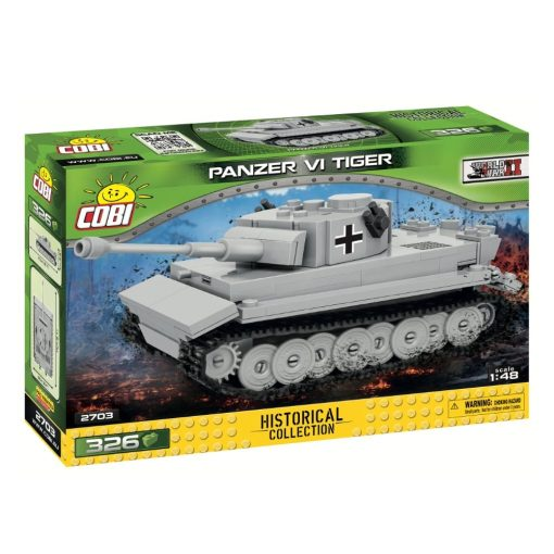 COBI 148 Scale Tiger Tank 2703