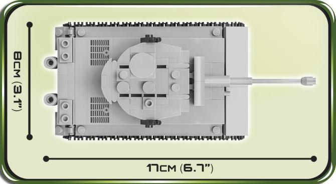 COBI 148 Scale Tiger Tank 2703 review