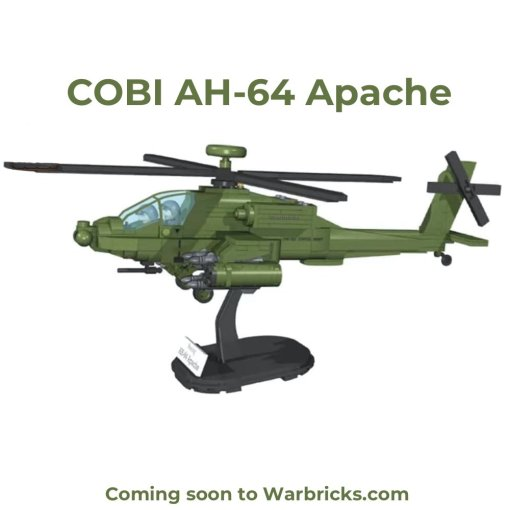 COBI AH-64 Apache Helicopter Set