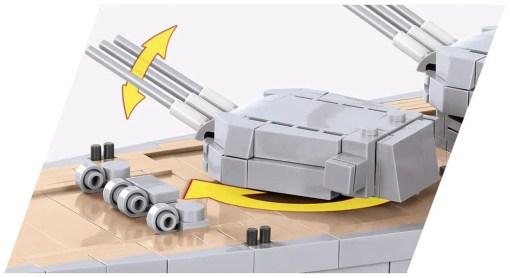 COBI Battleship Yamato Turret Main gun