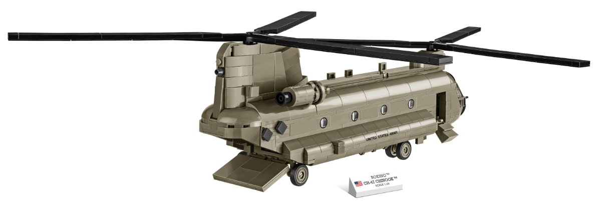 COBI CH-47 Chinook Helicopter Set (5807) Review