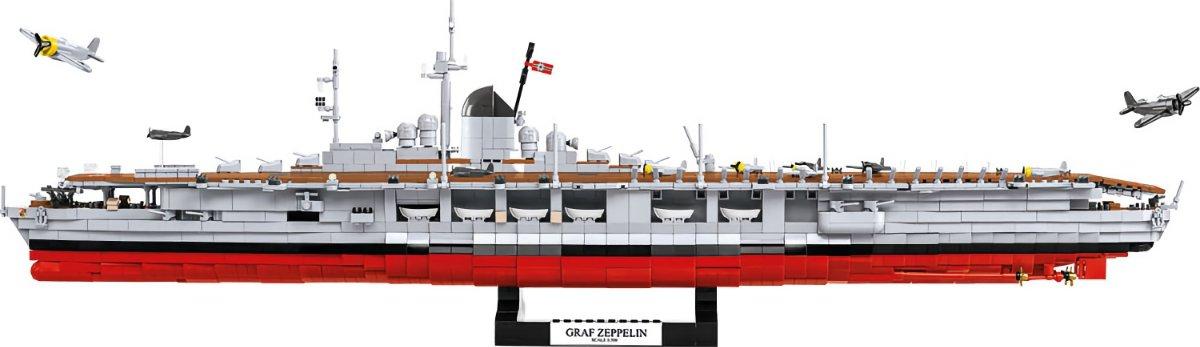 COBI Graf Zeppelin Carrier Display