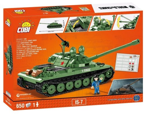 COBI IS7 World Of Tanks Set USA Store